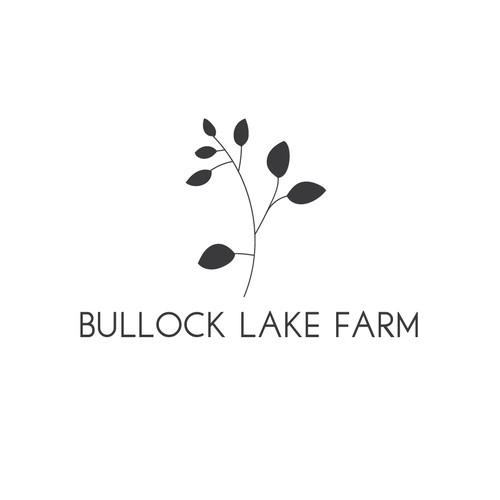 Minimalist logo for family farm