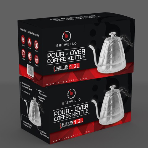 Coffee Brewing Brand needs a PACKAGING design from you!