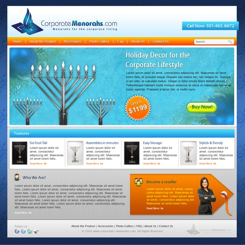 Exciting New - Corporate - Sleek Designs Needed! Web 2.0