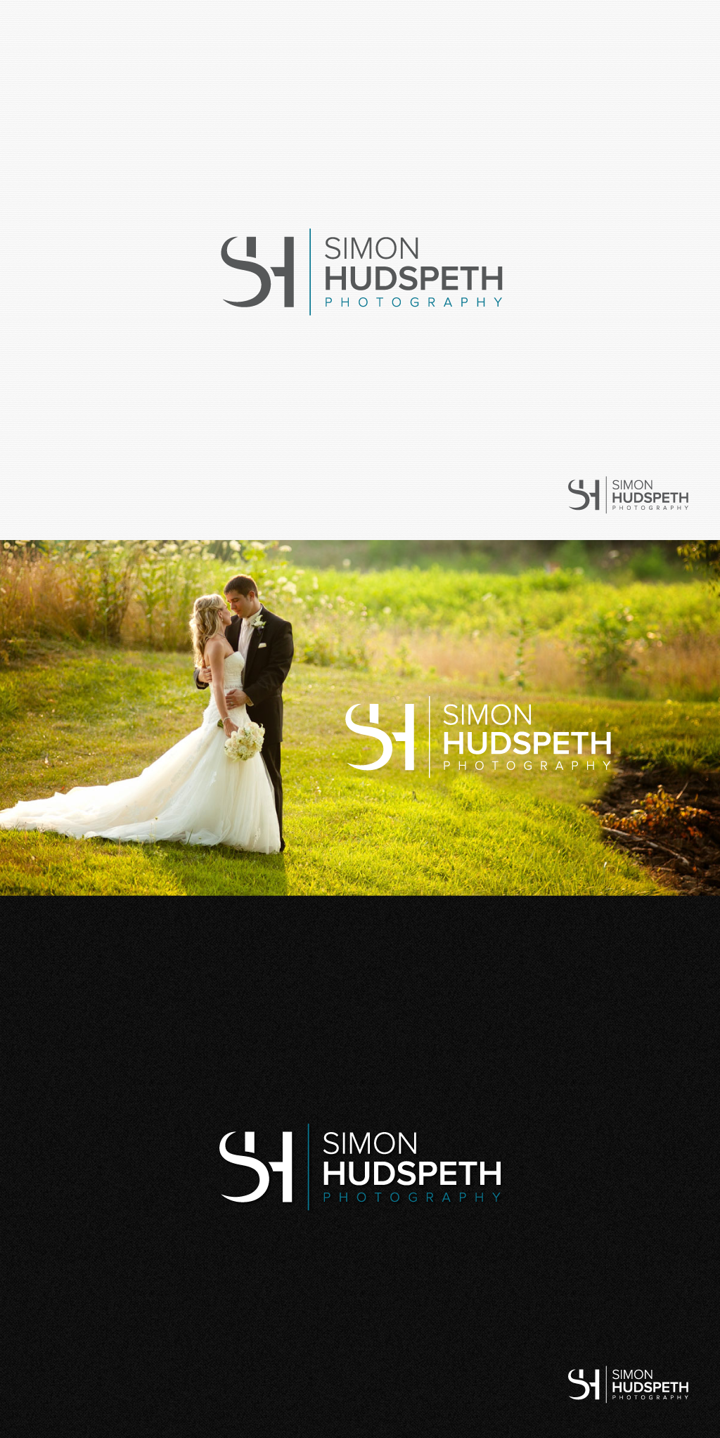 Create a high quality logo for a documentary wedding photographer
