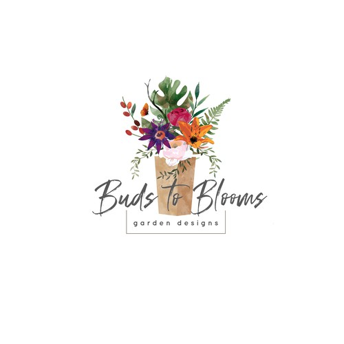 Design a logo for Buds to Blooms