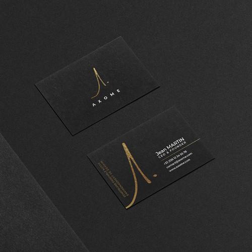 Axome - Logo & Identité visuelle
