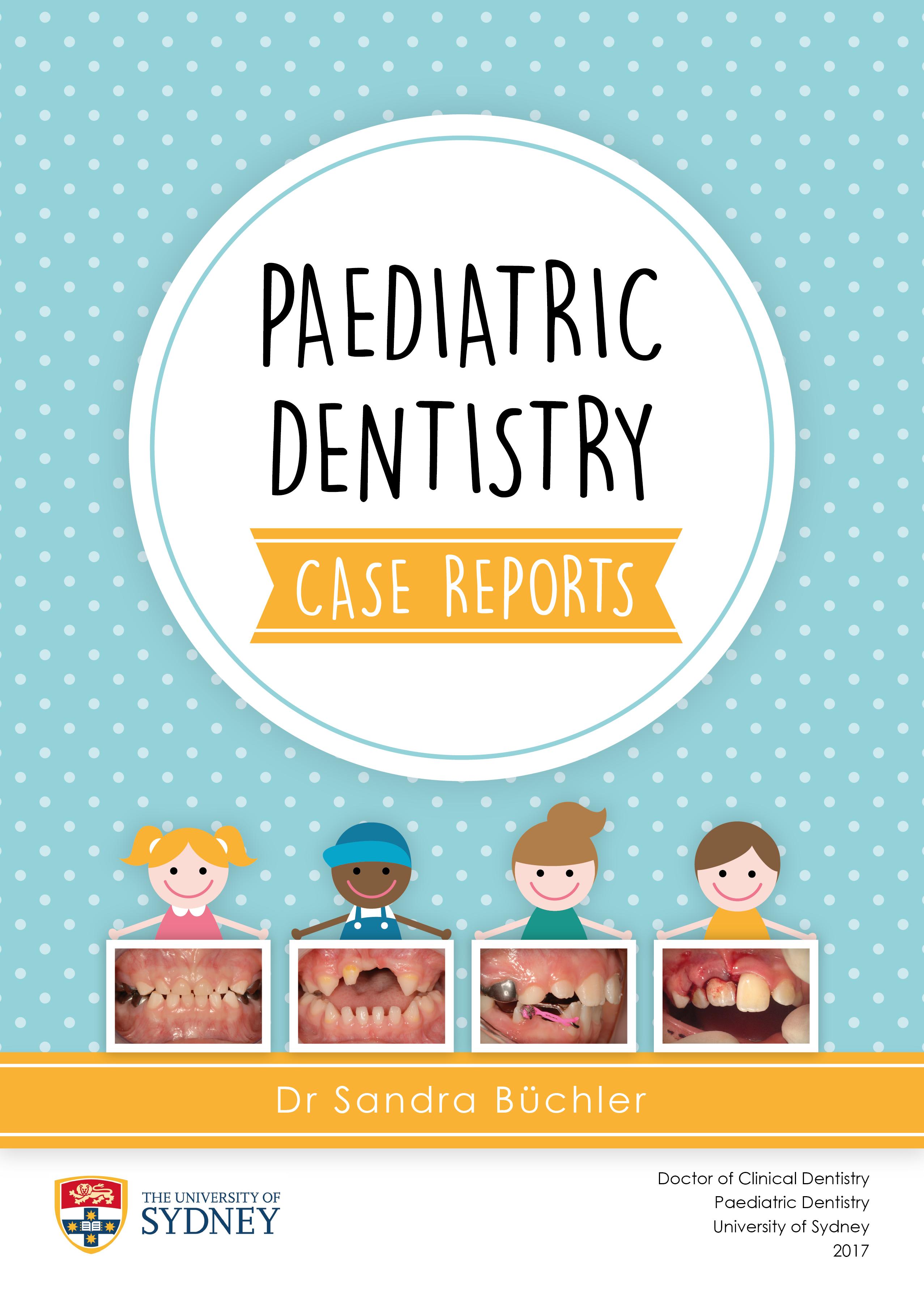 Create a book cover for Professional Paediatric case presentation