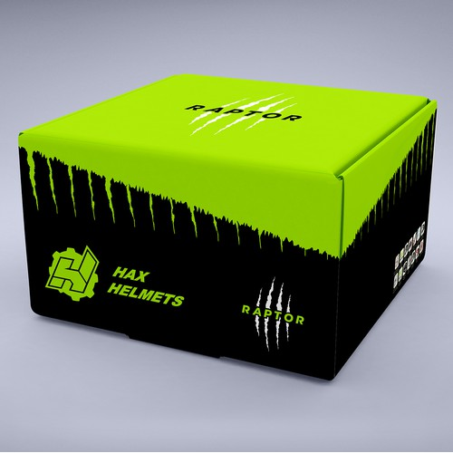 Helmet Box Packaging