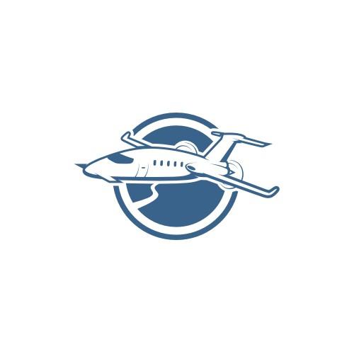 Create a classy, fun , powerful logo for a private air charter club