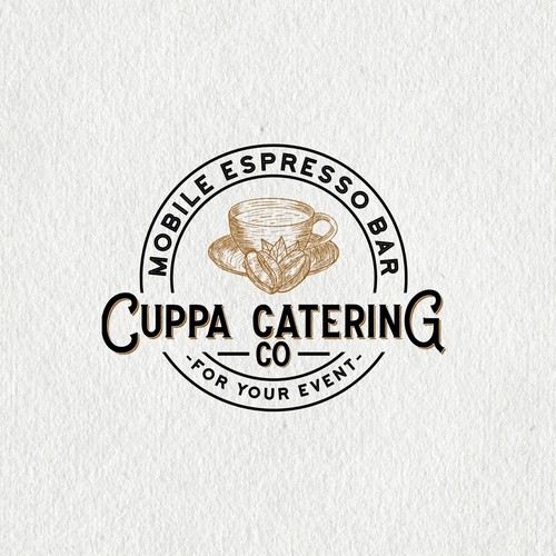 Cup coffee logo design