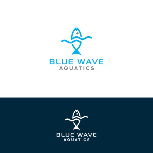Modern and Sophisticated logo for Aquarium Fish and Equipment Shop