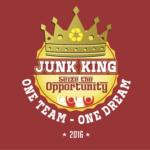 Design logo - JUNK KING