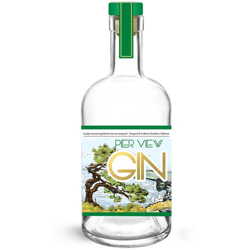 So Cal Gin Looking for Label