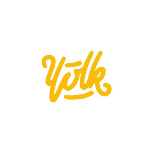 Yolk logo concept
