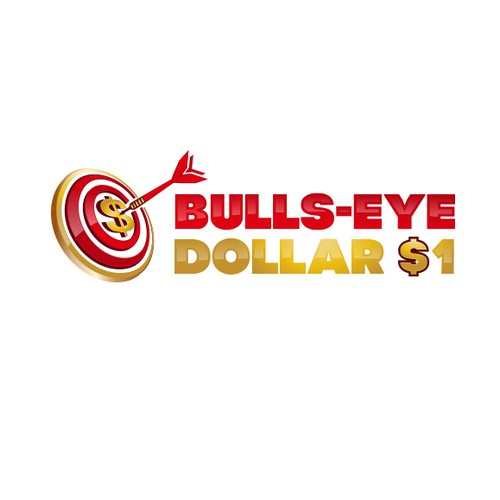 Bold logo for Dollar Store