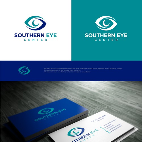 Simple, clean and professional logo design for SouthernEye Clinic..