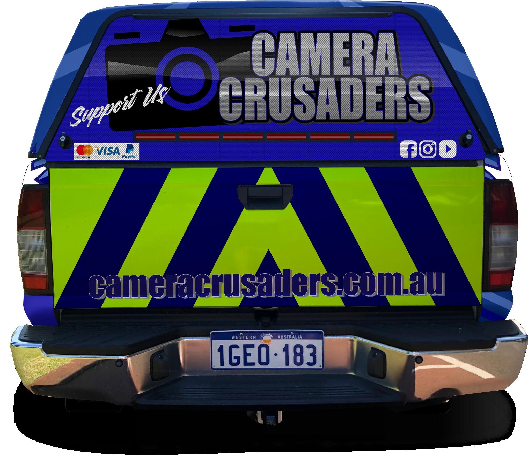 Vehicle Vinyl Wrap Design - Speeding Camera Resistance Group