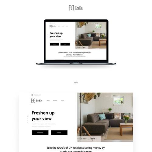 Home-Furnishing web design