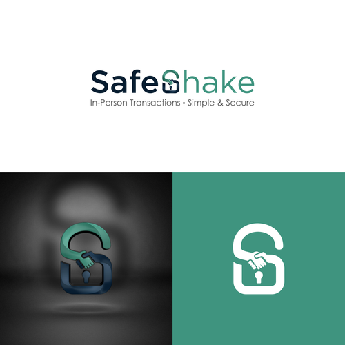 logo concept for SafeShake