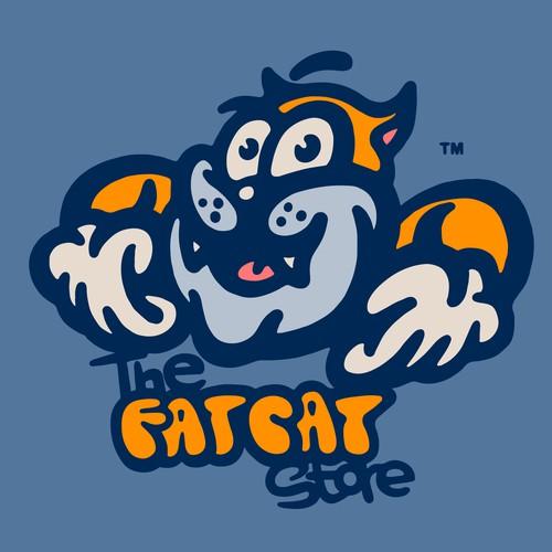 Cartoon Character Design for an Online Cat Store