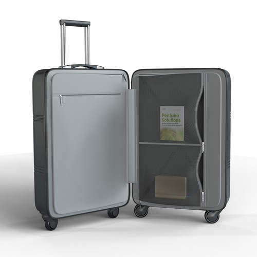 3D Smart Suitcase Design (Blind Contest)