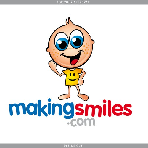MakingSmiles.com Character and Logo Design