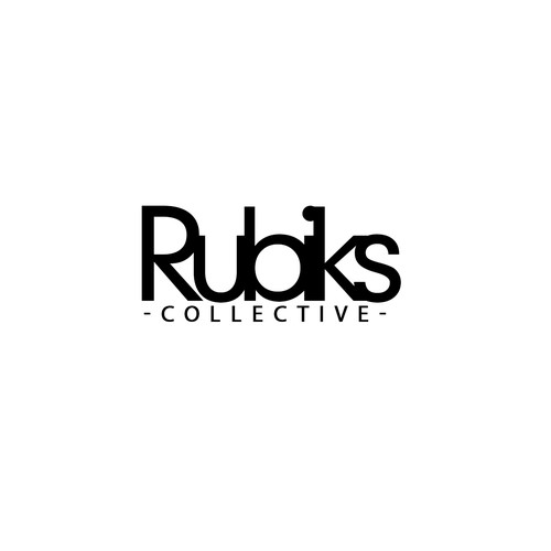 Logo concept for Rubiks Collective