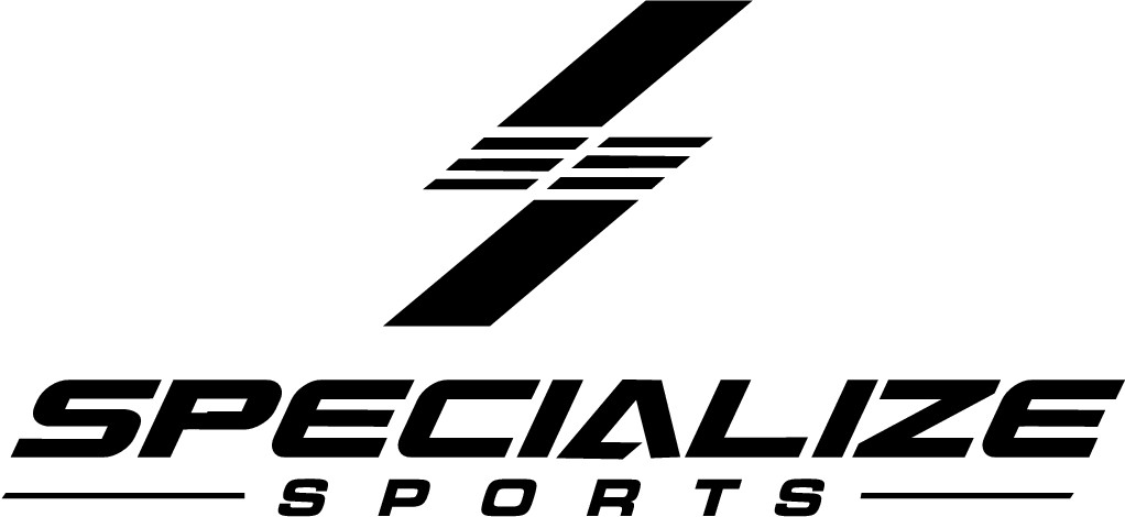 """Create a wonderful logo for my new sports brand """"specialize"""""""