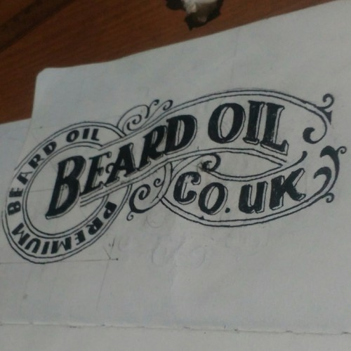 BEARD OIL CO.UK concept logo
