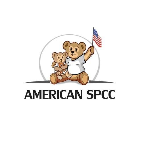 E.g Bold logo concept for AMERICAN SPCC compagnie