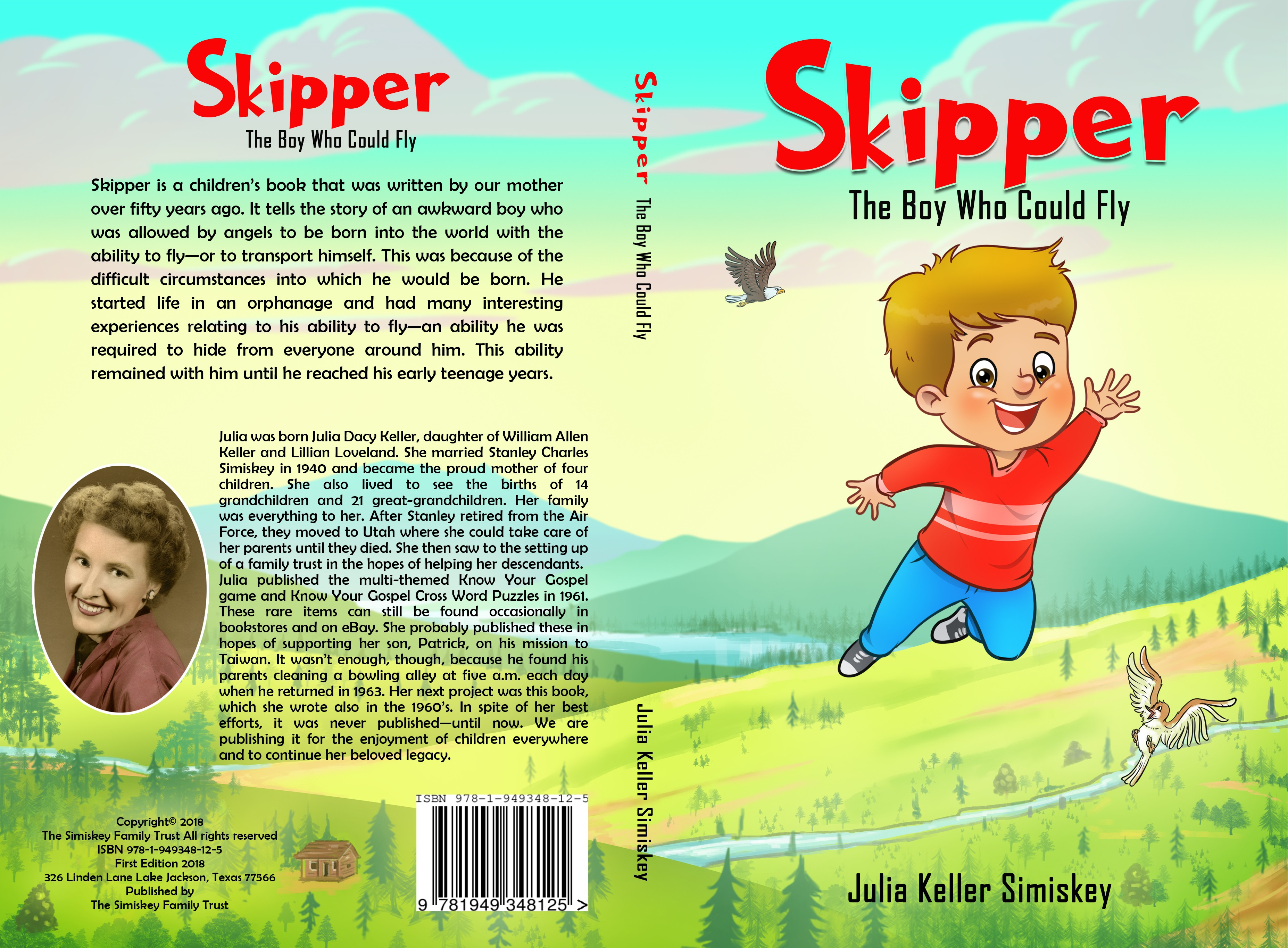 Create a whimsical children's book cover