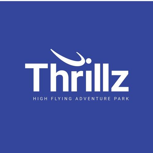 thrillz logo design