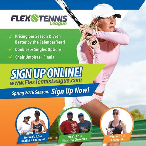 Tennis Print Ad