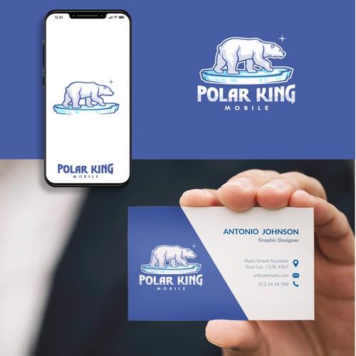 Polar King Mobile Logo