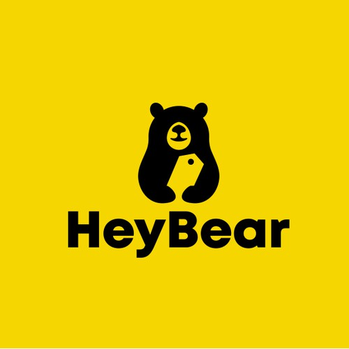 Bear logo for an  online apparel and merchandise store.