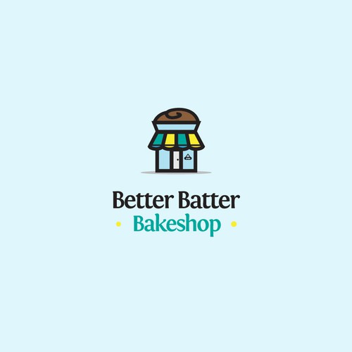 Fun Logo Design for Bakeshop business