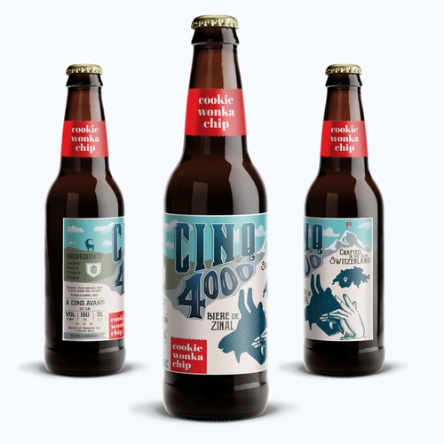 New label for one of the best beers of Swiss