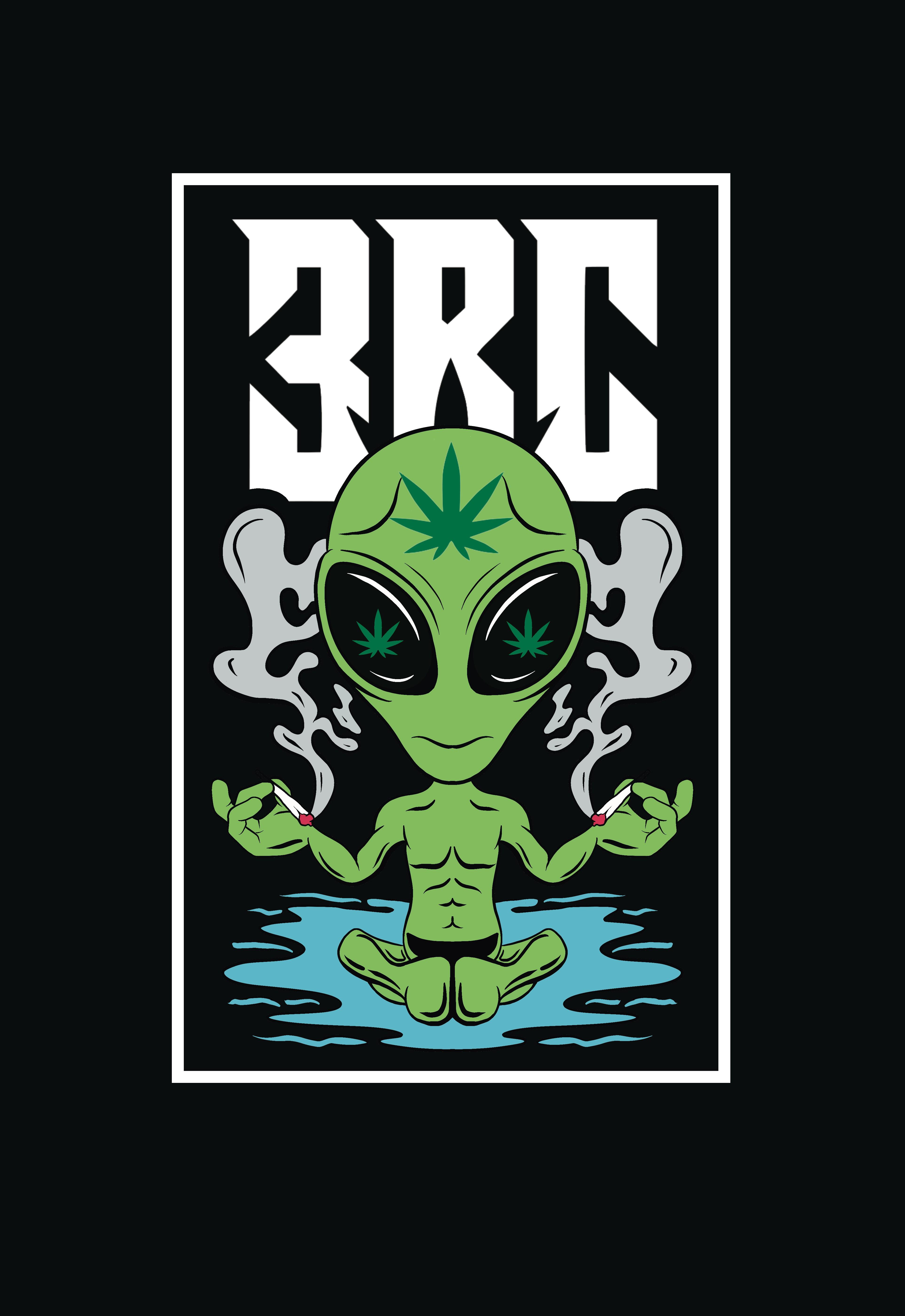 Weed Company sticker