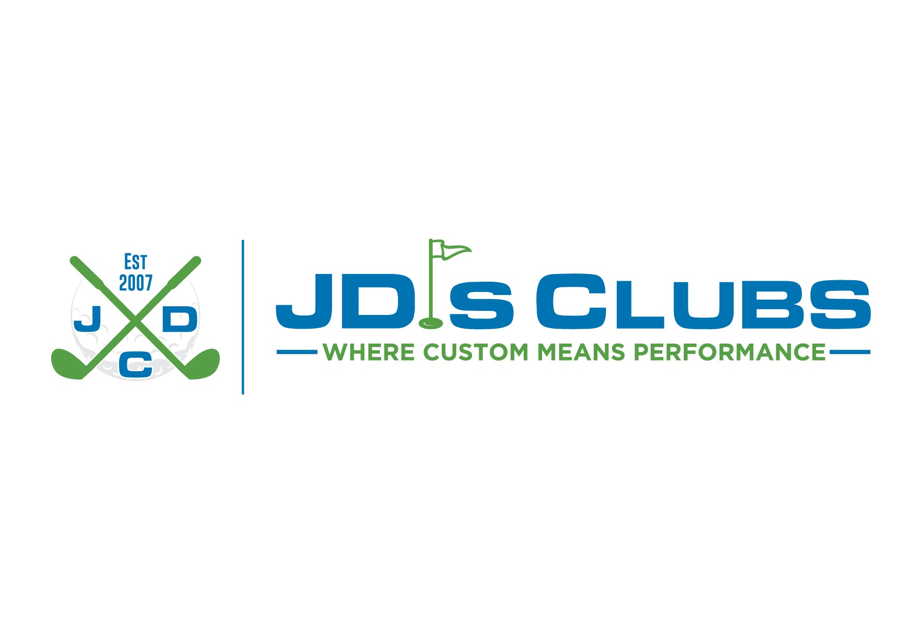 """Create a """"popping"""" and """"creative"""" logo for a golf company"""