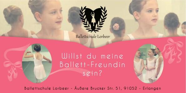 Ballet school - New Year Ballerina Campaign