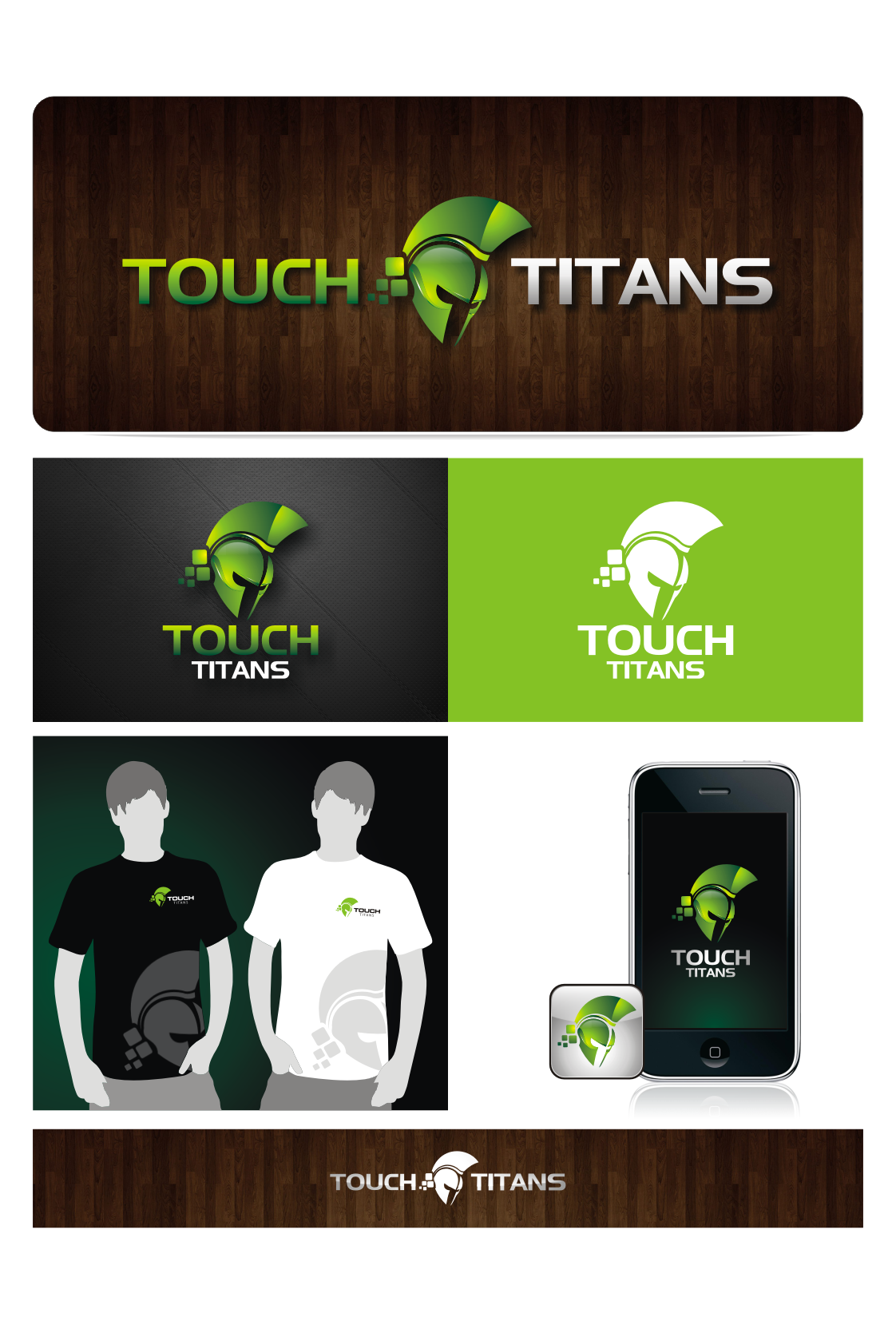 New logo wanted for Touch Titans