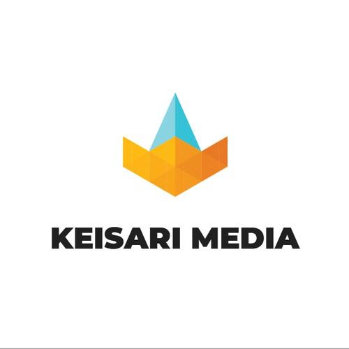 Modern logo for a media company