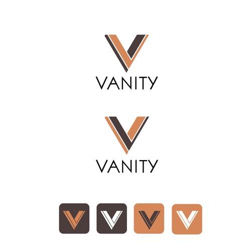 logo concept idea for Vanity nr. 3