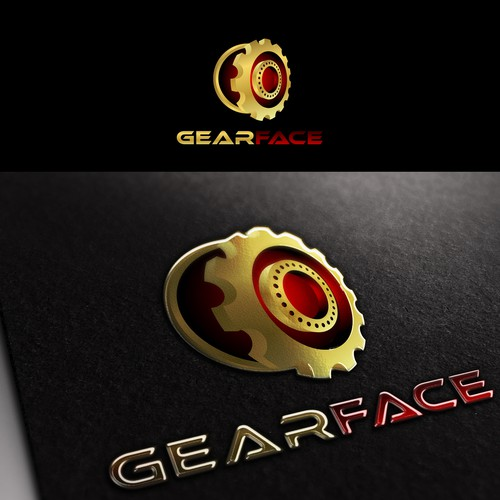 create the face of Gearface