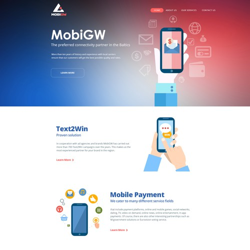 Website for MobiGW