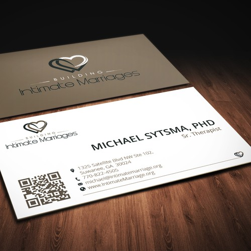 New Business card and letterhead design for marriage counselors