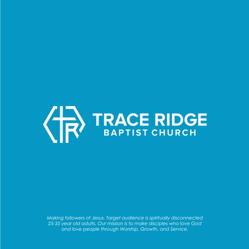 Logo Concept for Trace Ridge Baptist Church