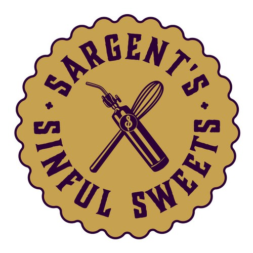Create a sinfully delicious looking logo and website for a Saturday Market Bakery!