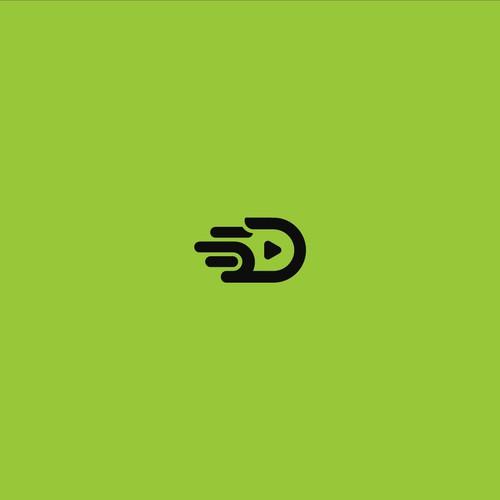Modern, crisp logo for 5D
