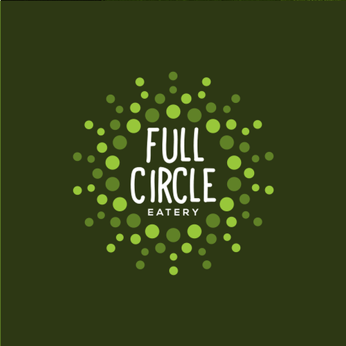 logo concept for full circle eatery