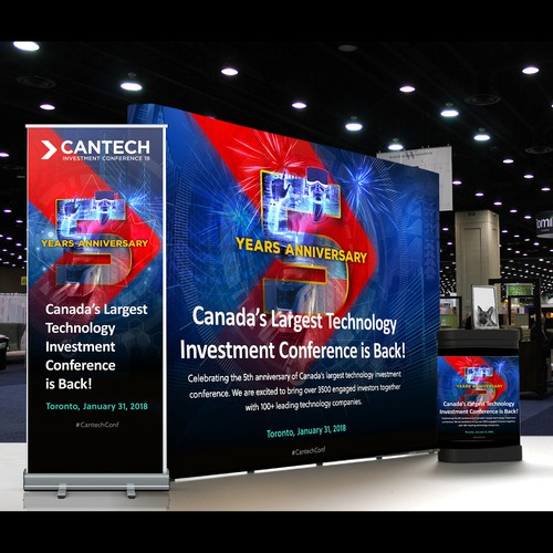 CANTECH 5th Anniversary Design