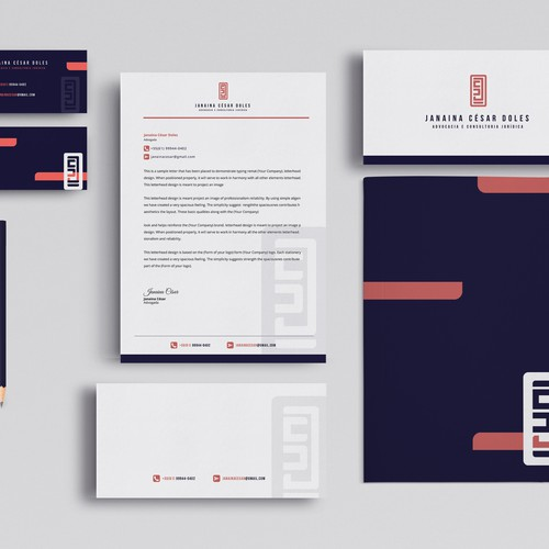 stationery for law firms.