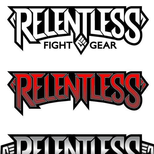 Create an amazing logo for Relentless Fight Gear!