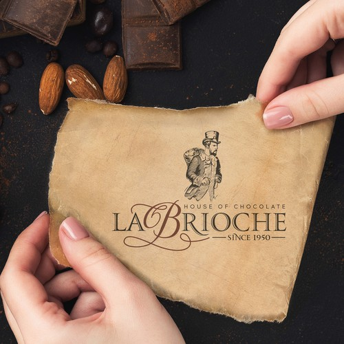 Craft chocolate logo design